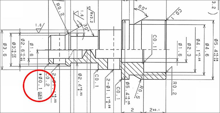 小径穴の深穴加工